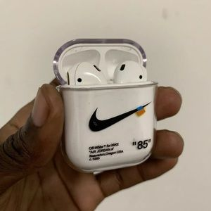 Custom Offwhite Airpod Case
